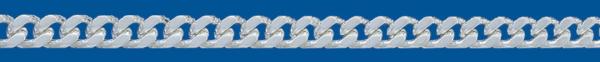 Cadena de plata BARBADA Lapidada 4 Caras