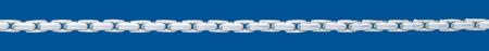 HARICOT Silver chain Round