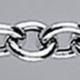 TRACE Hollow silver chain