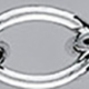 BELCHER Hollow silver chain Oval without Diamond cut