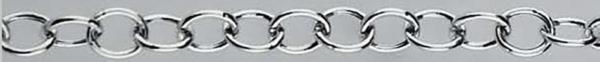 SR Hollow silver chain