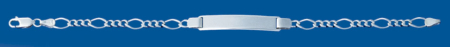 BPR (1X3) Silver identity 200 X 21cm
