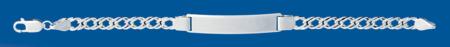 Identidad de plata D.ROMBO 100 X 21cm