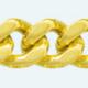 Cadena de oro 18Kt BARBADA Lapidada 2 Caras