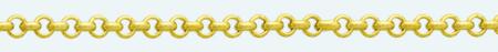 BELCHER 18Kt gold chain Flat
