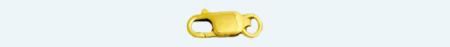Fornitura de oro 18Kt MOSQUETON No.0 8
