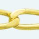 Cadena de oro 9Kt BILBAO Lapidada 2 Caras