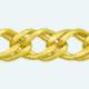 Cadena de oro 9Kt DOBLE ROMBO