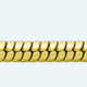 Cadena latón chapada en oro COLA DE TOPO Normal