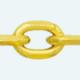 Cadena latón chapada en oro FORZADA Normal Lapidada