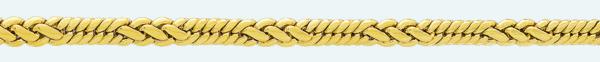 Cadena latón chapada en oro BT2