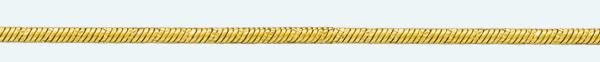 Cadena latón chapada en oro CTM